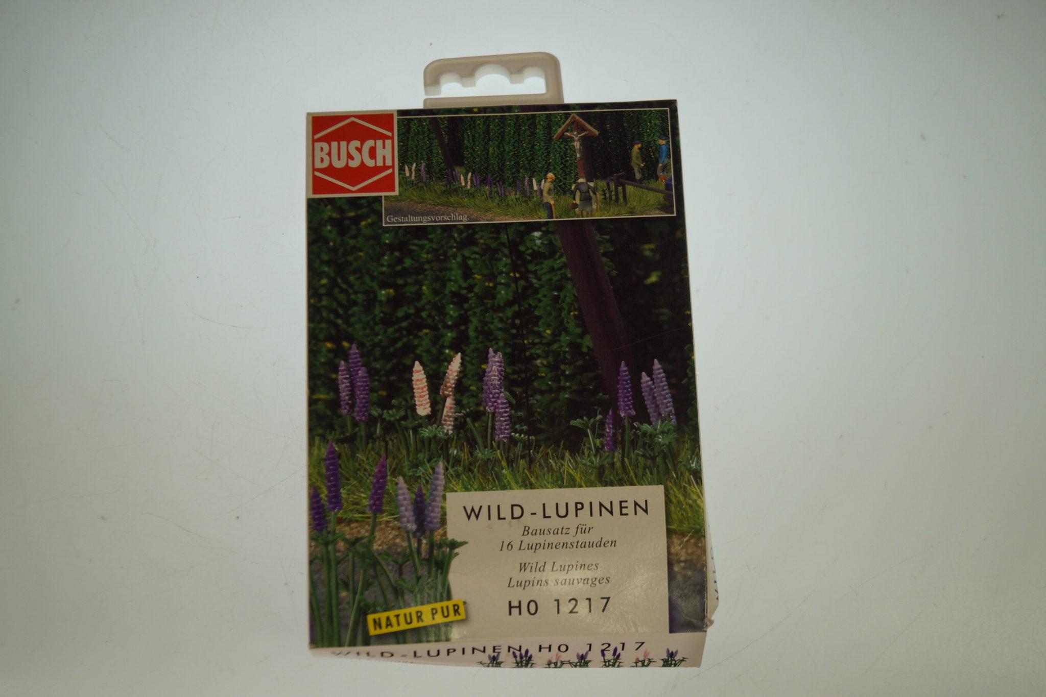 Busch 1217 Wild-Lupinen H0