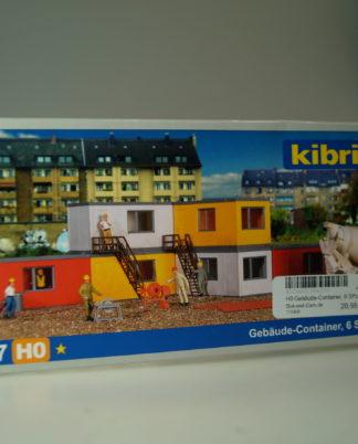 8 St.//Kibri kit //// Spur h0 Contenedor 20-fuß
