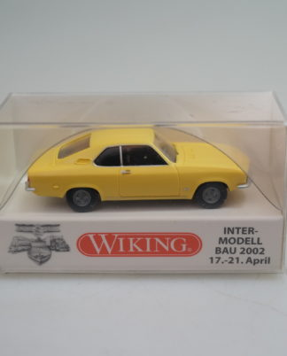 Wiking H0 1:87 Automodell Opel Manta A  braun 827 02 23 NOS NEU OVP