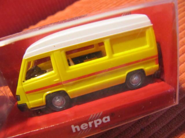 1:87 Herpa 042307 MB 100 Wohnmobil rot neuw.//ovp