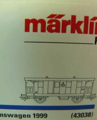 Güterwagen MÄRKLIN